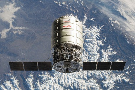 Cygnus_Orb-1_on-orbit