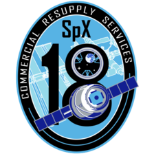 SpX-18 Mission Patch